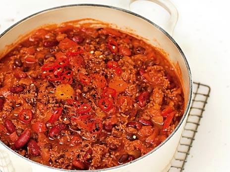 LCHF recept för Chili con carne